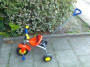 Kinder Dreirad mit Schiebestange Gut