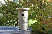 Baumstammnistkasten natürliche Nisthilfe Vogelhaus Nistkasten
