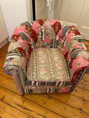 KARE Sessel im Patchwork Design