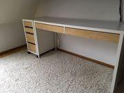 Schreibtisch mit Container IKEA Mod