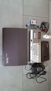 Pocket-PC Sharp PC1500 mit reichhaltigem