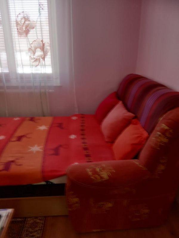 Eckiges Sofa mit Schlaffunktion Couch