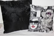 2x Kissen Fashion Deko Sofa