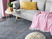Teppich grau 140 x 200