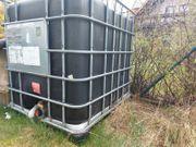 1000l Wassertank mit Kunststoffpalette