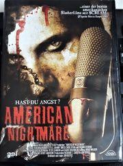 AMERICAN NIGHTMARE HORROR DVD