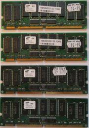 SDRAM Samsung 256MB PC100 CL3