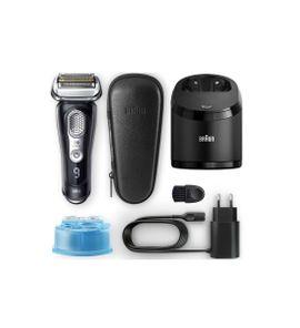 Braun Series 9 9365cc Wet & Dry Nass- und Trocken,Technologie inkl. Reinigungsstation, Etui