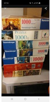 diverse puzzle stück 3 euro