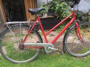 Damen Fahrrad Rot