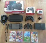 Nintendo switch konsole set