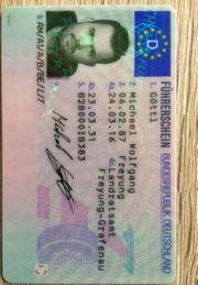Holen Sie sich Ihren Führerschein