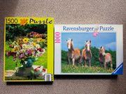 3 Puzzle zu verschenken
