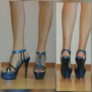 Giaro High Heels Pumps Metallic