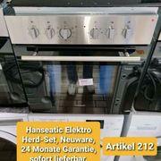 Hanseatic Elektro Herd-Set Bware 24