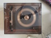 Vintage Plattenspieler Dual 1219 Grundig