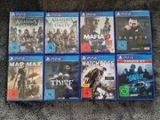 PS4 Spiele wie neu