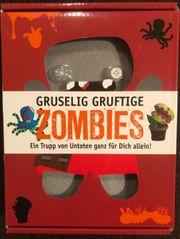 Bastelset Gruselig Gruftige Zombies NEU -