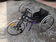 Behinderten Fahrrad Bike Rollstuhl Bike