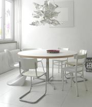 Konferenztisch Esstisch rund 150 cm
