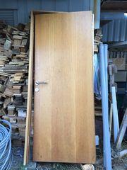 Massive Holztüre