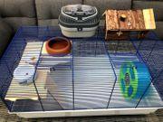 Maus- und Hamster- Käfig Kleintierkäfig Set