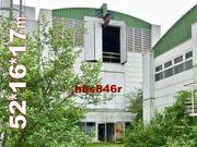 Solide dreigeschoßige Werkhalle 52x16x17m Stahlhalle