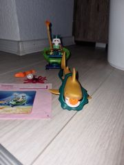 Playmobil Meereskönig mit Haikutsche