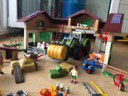 playmobil großer Bauernhof mit mehreren
