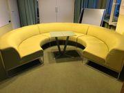 Hochwertiges Design Sofa aus Meetingraum
