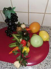 Küchendeko Beeren- Gemüsestrang div Obst