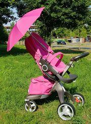 STOKKE XPLORY Kinderwagen Limited PINK