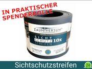 Sichtschutzstreifen Spenderrolle - 50x Anthrazit PP -