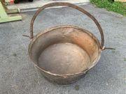 Kupfer-Käsekessel