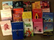 Büchersammlung überwiegend Romane
