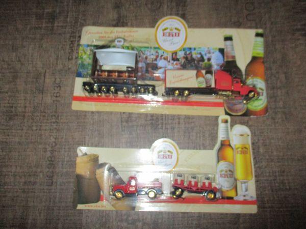 Brauerei Minitrucks Werbetrucks EKU Paulaner
