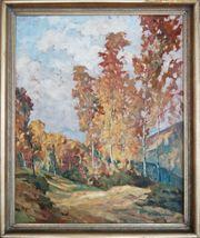 Wilhelm Wickertsheimer Lahr Öl Gemälde