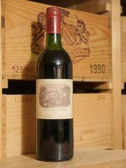 1982er Lafite Rothschild Pauillac