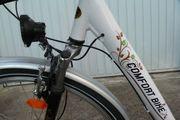 Damen-Fahrrad mit extra tiefem Einstieg