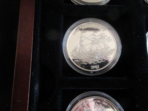 Silbermünzen Geschichte der Seefahrt
