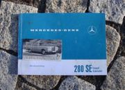 Betriebsanleitung Mercedes W111 280 SE