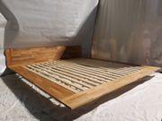 Bett Holzbett stabiles Bett stilvolle