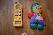 Spieluhr und Telefon