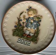 Hummel Jahresteller 2002 Hummelfigur Goebel