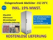 Gastro Tiefkühlschrank 66x5L Eisschale Gefrierschrank