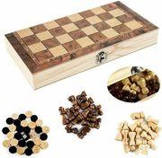 29x29cm Schachspiel Schach Schachbrett Holz