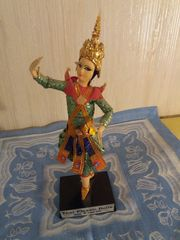 Orginal Thailändische Thai Tempeltänzerin Puppe