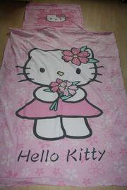Kinder Bettwäsche Hello Kitty rosa