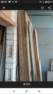 Dach Balken Überdachung Holzplatten Rinne