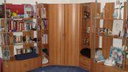 Zimmer - Einrichtung Regale Eck-Schrank 5